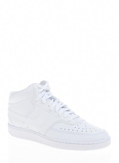 Nike Erkek Beyaz Sneakers CD5466 - 100 Court Vision Mid Beyaz